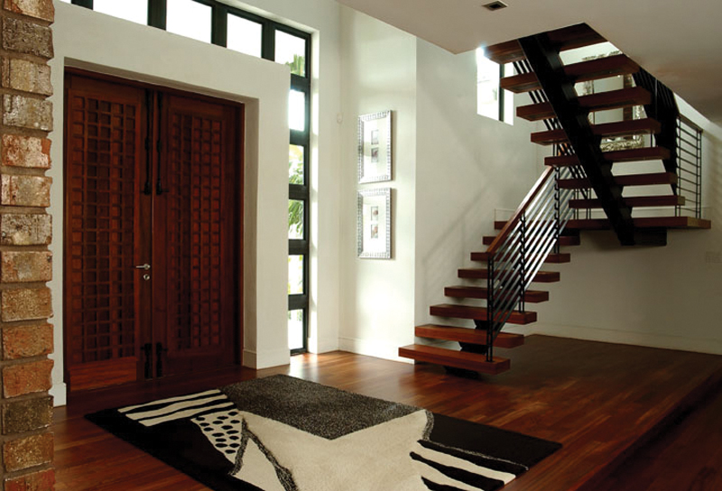Contemporary House Plan Stairs Photo 106S-0046