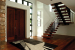 Contemporary House Plan Stairs Photo - 106S-0046 | House Plans and More