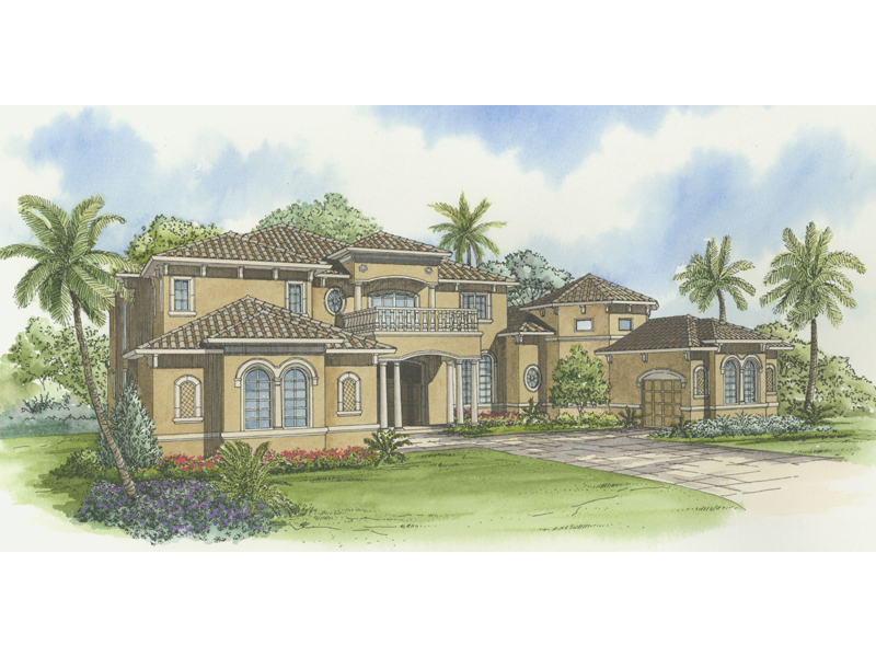Expansive Two-Story With Spanish Flair