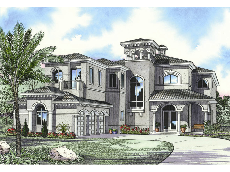 Stately Two-Story Designed For Pure Luxury