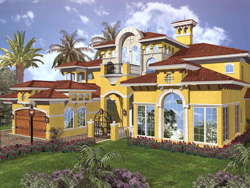 Sprawling Spanish Design With Superb Amenities