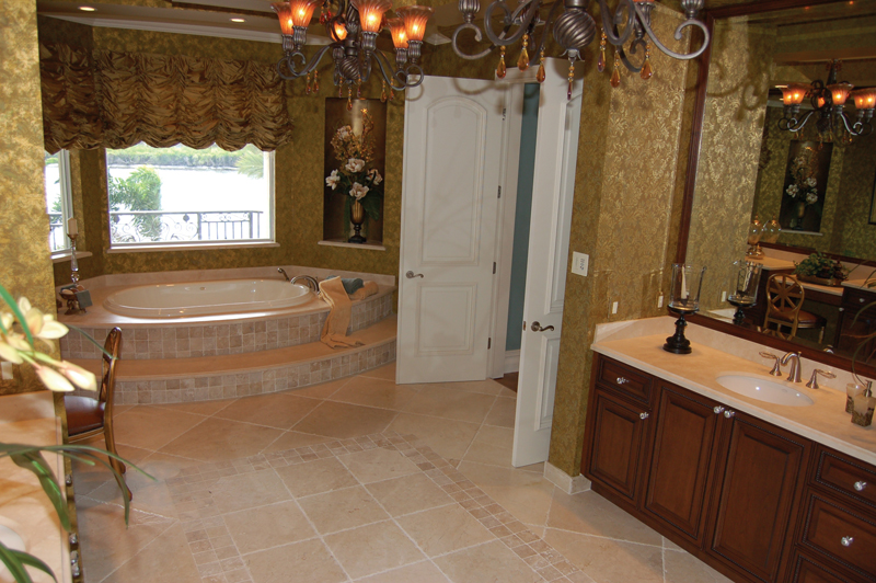 Luxury House Plan Master Bathroom Photo 01 106S-0059