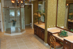 Spanish House Plan Master Bathroom Photo 02 - 106S-0059 | House Plans and More