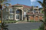 Stunning Spanish Mediterranean Luxury Two-Story Home