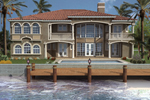 Florida House Plan Color Image of House - 106S-0061 | House Plans and More