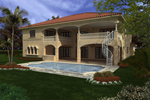 Mediterranean House Plan Color Image of House - 106S-0062 | House Plans and More