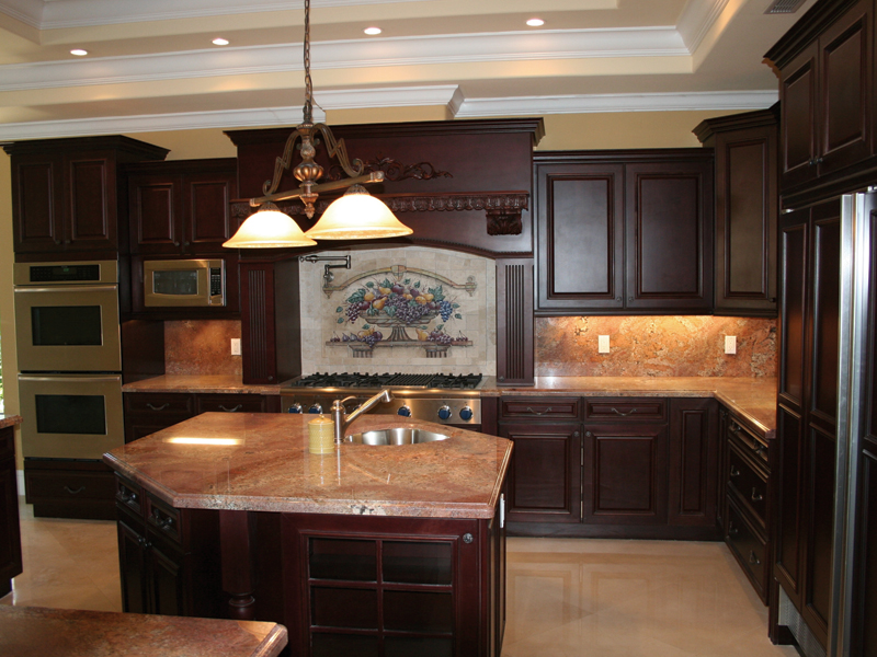 Spanish House Plan Kitchen Photo 01 106S-0065