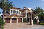 Mediterranean House Plan Front Photo 02 - 106S-0070 | House Plans and More