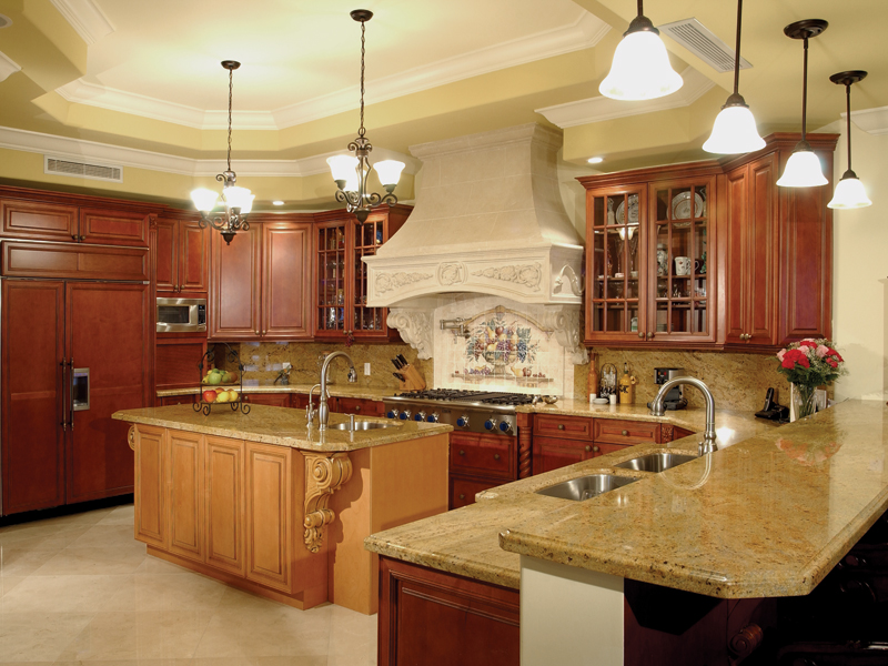 Spanish House Plan Kitchen Photo 01 106S-0070