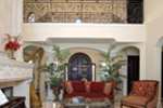 Mediterranean House Plan Living Room Photo 01 - 106S-0070 | House Plans and More