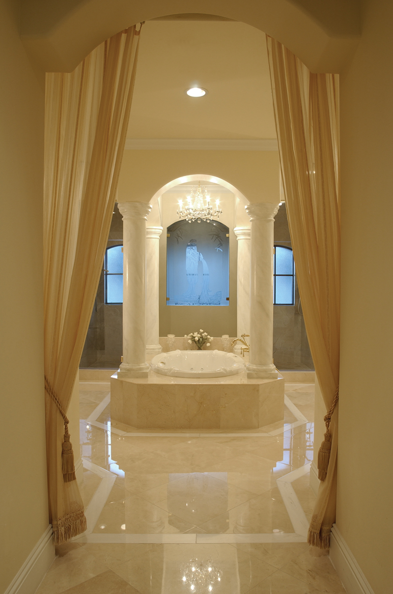 Luxury master bathroom floor plans for Master floor