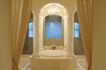 Spanish House Plan Master Bathroom Photo 01 - 106S-0070 | House Plans and More