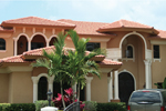 Stucco Two-Story Home Great For Sunbelt