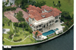 Waterfront Home Plan Outdoor Living Photo 03 - 106S-0072 | House Plans and More