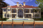 Luxury House Plan Color Image of House - 106S-0073 | House Plans and More