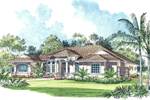 Classic Floridian One-Story With Open Design
