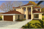 Southwestern House Plan Front of Home - 106S-0082 | House Plans and More