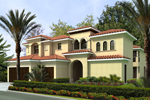 Luxurious Two-Story Mediterranean