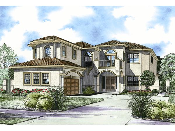 San Simon Florida Style Home Plan 106s 0096 House Plans