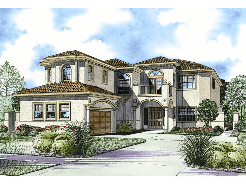 San Simon Florida Style Home Plan 106s 0096 House Plans