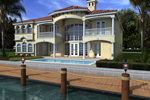 Florida House Plan Color Image of House - 106S-0098 | House Plans and More