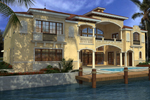 Southwestern House Plan Color Image of House - 106S-0099 | House Plans and More