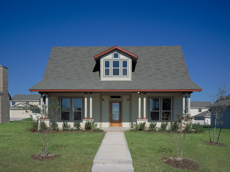 Traditional House Plan Front of Home 111D-0005