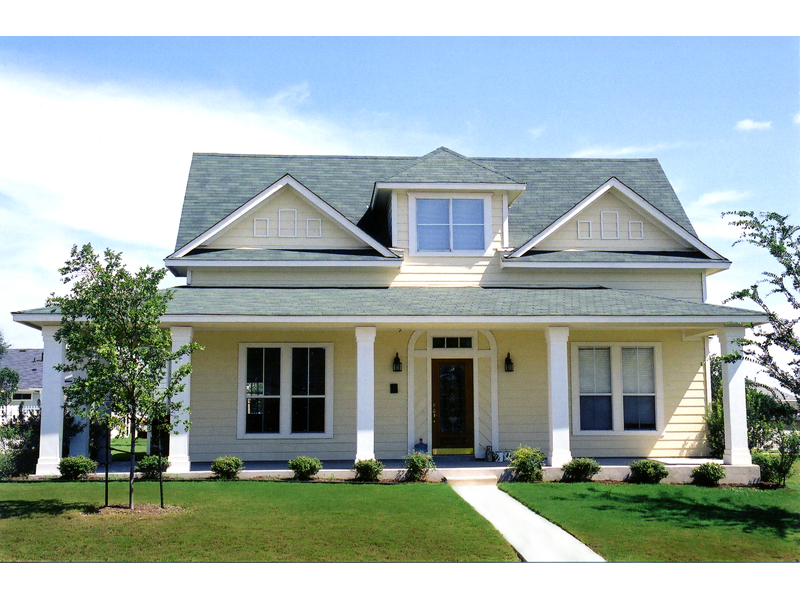 Country House Plan Front of Home 111D-0006