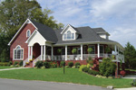 European House Plan Front Photo 04 - 111D-0009 | House Plans and More
