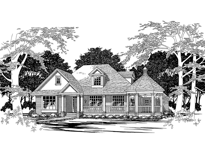 Gazebo Porch House Plans House Design Plans