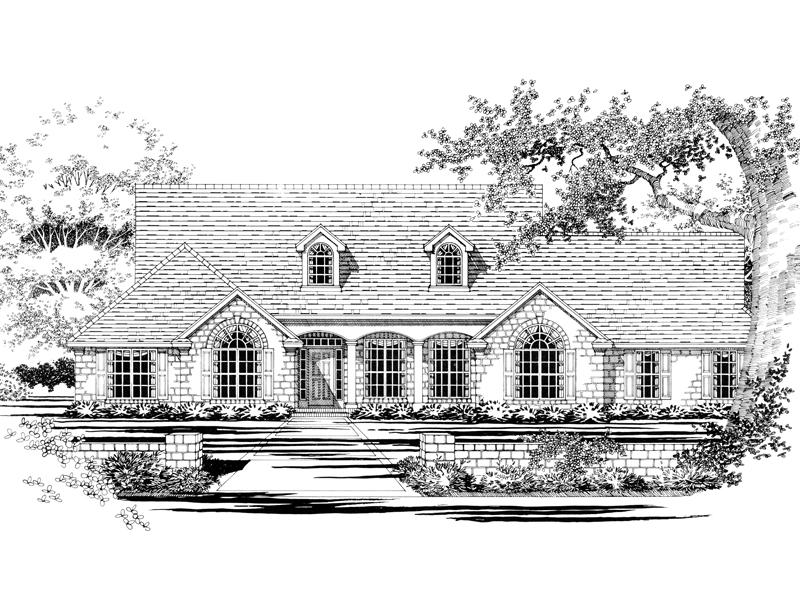 Decorative Exterior Creates English Cottage Style