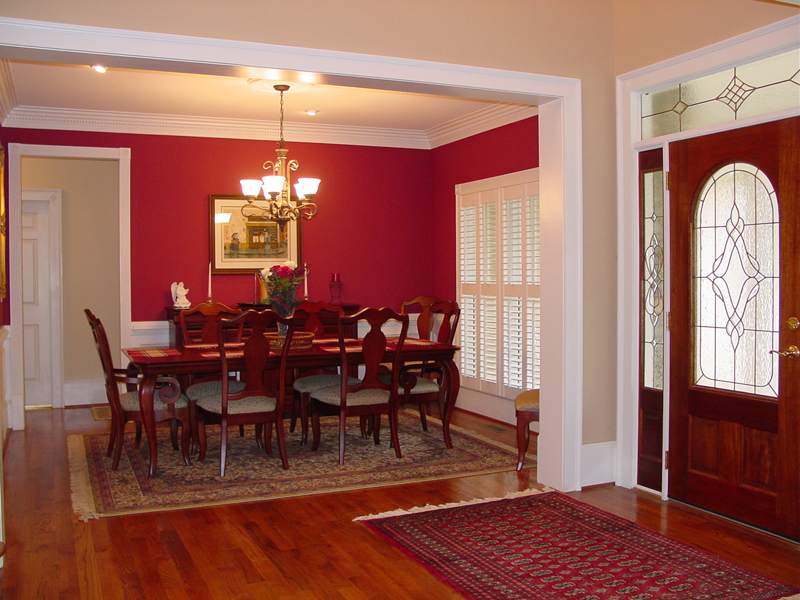 Cape Cod and New England Plan Dining Room Photo 01 111D-0025