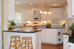 Cape Cod and New England Plan Kitchen Photo 01 - 111D-0025 | House Plans and More