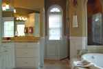 Cape Cod & New England House Plan Master Bathroom Photo 01 - 111D-0025 | House Plans and More