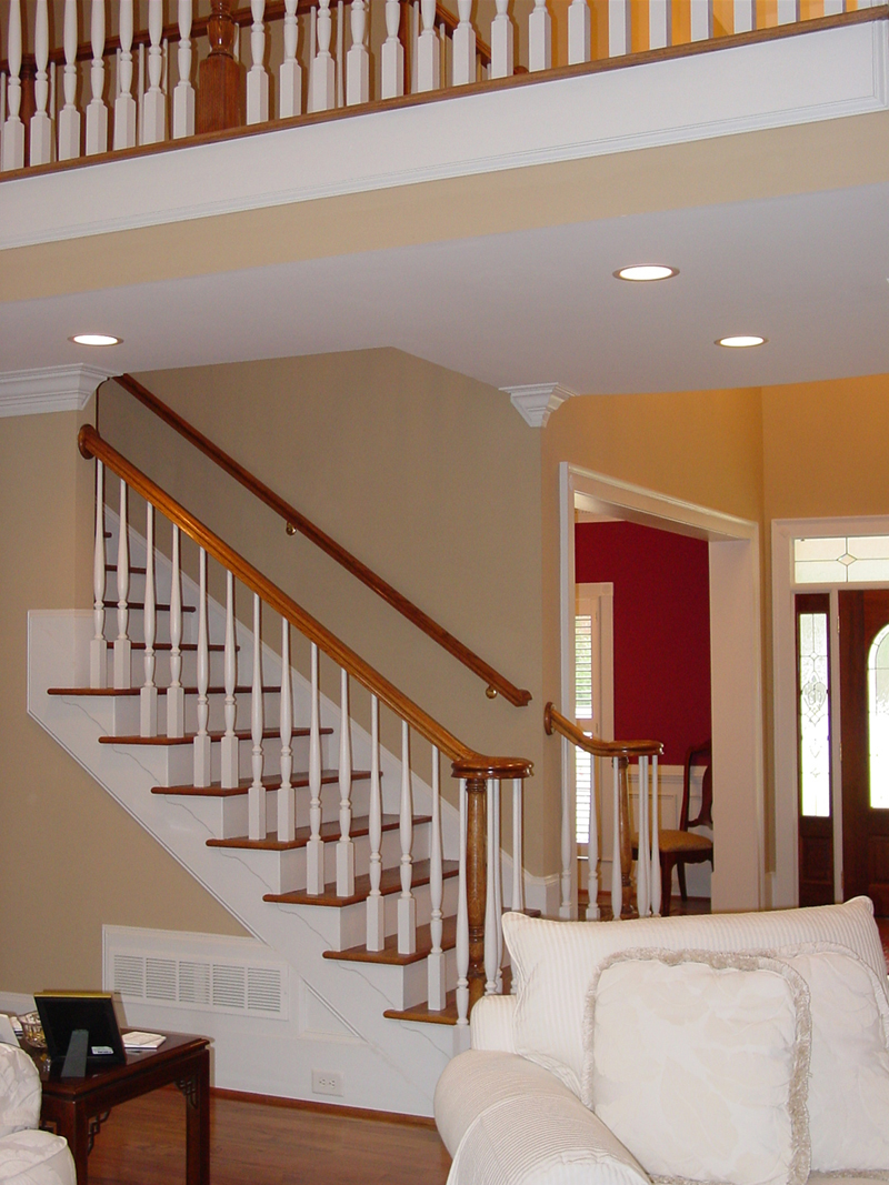 Cape Cod and New England Plan Stairs Photo - 111D-0025 | House Plans and More