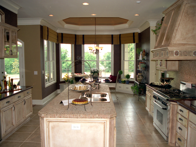 English Tudor House Plan Kitchen Photo 01 111D-0031
