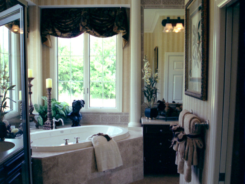 English Tudor House Plan Master Bathroom Photo 01 111D-0031