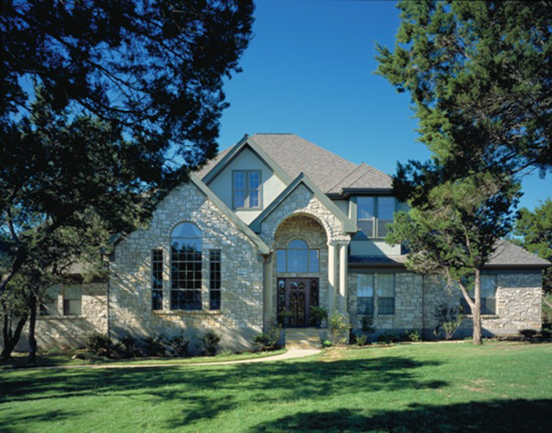 Country French Home Plan Front of Home 111S-0004