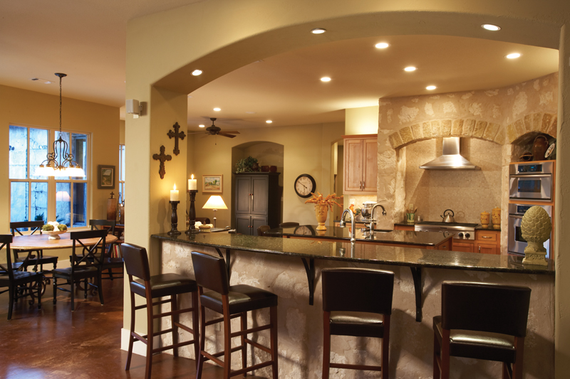 Prairie Style Floor Plan Kitchen Photo 02 111S-0005