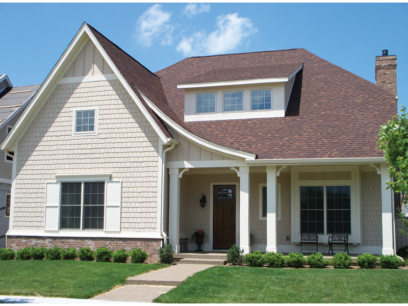 Craftsman House Plan Front of Home - 119D-0001 | House Plans and More