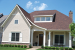 European House Plan Front of Home - 119D-0001 | House Plans and More