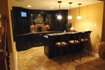 European House Plan Bar Photo - 119D-0003 | House Plans and More
