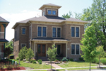 Neoclassical Home Plan Front of Home - 119D-0003 | House Plans and More