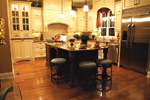 European House Plan Kitchen Photo 01 - 119D-0003 | House Plans and More