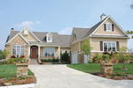 European House Plan Front of Home - 119D-0005 | House Plans and More