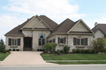 European House Plan Front of Home - 119D-0007 | House Plans and More
