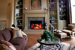 European House Plan Great Room Photo 02 - 119D-0007 | House Plans and More