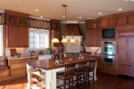 Country French Home Plan Kitchen Photo 01 - 119D-0007 | House Plans and More