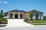 Mediterranean House Plan Front of Home - 119D-0011 | House Plans and More