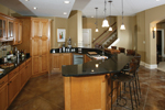 Neoclassical Home Plan Bar Photo 119D-0013